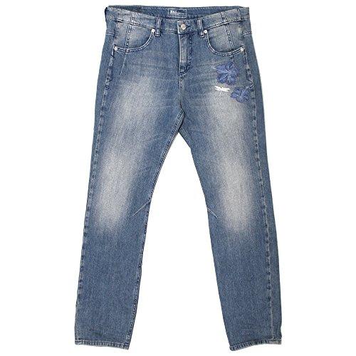 Mac, 7/8 Sexy Carrot, 7/8 Damen Jeans Hose, Stretchdenim, Blue Paradise, D 36 L 26 Inch 28 [20486]