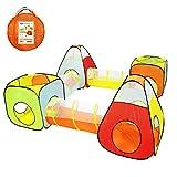 YOOBE 6pc Enfants Jouent Tente et Tunnel, intérieur et extérieur Enfant sautent...