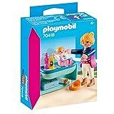 Playmobil 70418 - Mamá con bebé y cambiador