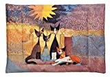 Wenko 8614100900 Wende-Decke für Katzen In Front of her Estate Rosina Wachtmeister