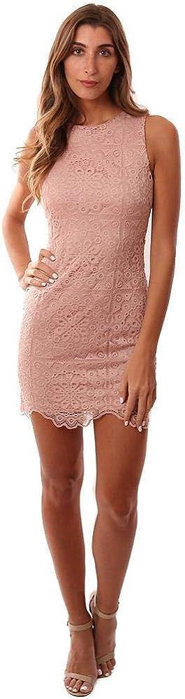 Jack Women's Ace of Lace Stretch Dress W/Scallop Hem