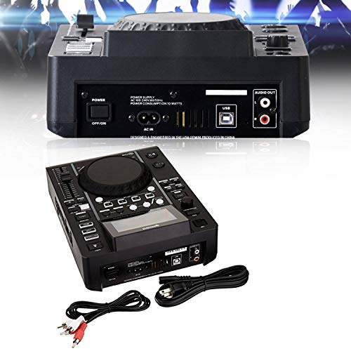 Gemini MDJ-500 - Lettori LCD professionali USB MP3 Media Player Mode MIDI
