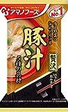 アマノフーズ いつものおみそ汁 贅沢豚汁 (12.5g×10食) ×10袋