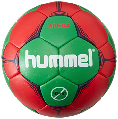 Hummel Erwachsene Handball Arena, Red/Green, 3, 91-791-3938