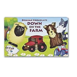 gwynedd milk chocolate farm set 85g Gwynedd Milk Chocolate Farm Set 85g 51zXKeqnZDL