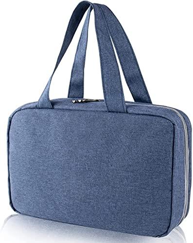 Trousse de toilette à suspendre avec 4 compartiments pliables, sac de rangement multifonction, accessoires de voyage