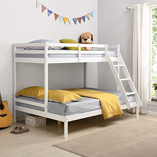 Cherry Tree Furniture Sunnybrook FSC-Certified Solid Wood Triple Bunk bed - White