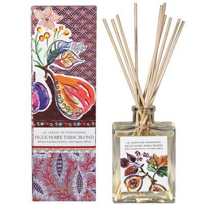 Fragonard Fragrance sticks Home Fragrance Figue Noire Tabac Blond Room Diffuser & 10 Sticks