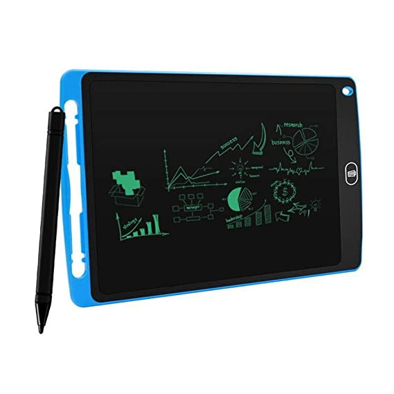 """Sprinto 15R 8.5"""" E-Writer LCD Writing Pad Paperless Memo Digital Tablet/Notepad/Stylus Drawing for Erase Button & Pen to Write (Random Colour)"""