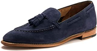 Scottie Navy Suede Loafer Lesi E Navy UK10 EU44 US24