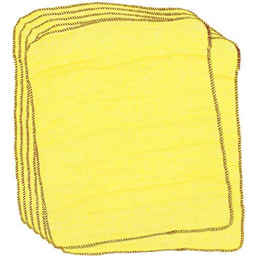 Als Direct Ltd TM Pack van 12 gele stofzuigers 33cm X 48cm