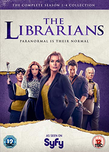 Librarians - The Complete Collection (Series 1-4) [DVD] [Reino Unido]