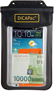 DiCAPac WP-565 White Waterproof Smartphone Case