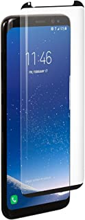 BodyGuardz - Pure Arc Glass Screen Protector for Galaxy S8, Ultra-Thin Tempered Glass Screen Protection for Samsung Galaxy S8