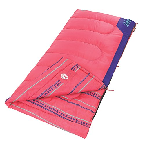 Coleman Kids 50 Sleeping Bag, Pink