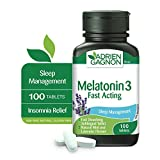 Adrien Gagnon – Sante Melatonin 3mg, 100 Tablets, Quick Release Melatonin to Sleep Well and Wake Up Refreshed, Sleep Formula for Insomnia Relief