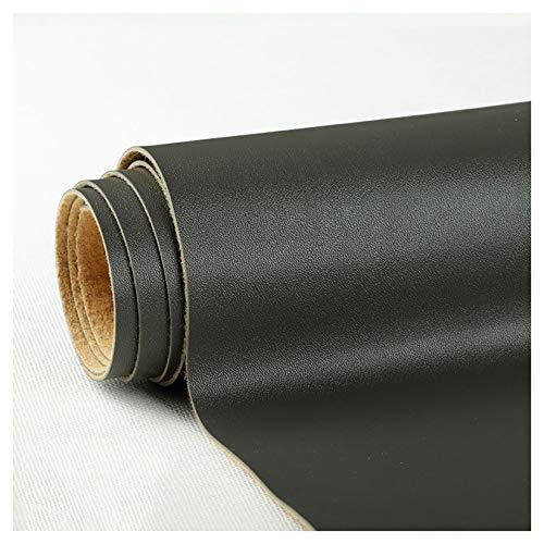 PENGDDP Cuero Artificial,Utilizado para Decorar y Proteger,Remodelar Muebles Sofá,a Prueba de Agua de Mohocuero para Manualidades Suave (Gris Oscuro)-Gris Oscuro 138x300cm