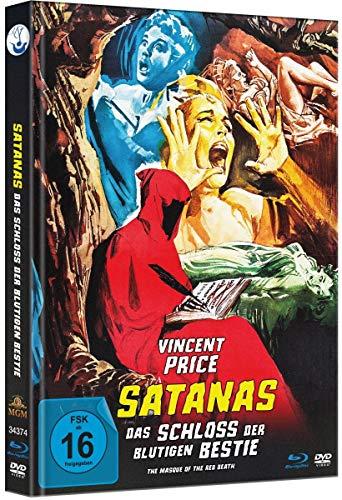 Satanas - Das Schloss der blutigen Bestie - Uncut Limited Mediabook-Edition (plus Booklet/HD neu abgetastet) (+ DVD) [Blu-ray]