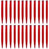 IHUIXINHE 24 Pcs Extension Capelli Clip, 55 CM Clip in Hair Extensions, Straight Ciocche per Capelli, per Donne Acconciature Cosplay Party, Rosso