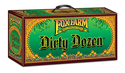 FoxFarm FX14109 Dirty Dozen Starter Kit Nutrients & Additives