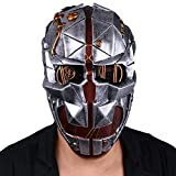 Cosplaybar Game Corvo Attano Fiberglass Mask Cosplay Halloween Silver