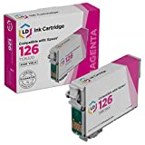 LD Remanufactured Ink Cartridge Replacement for Epson 126 T126320 High Yield (Magenta)