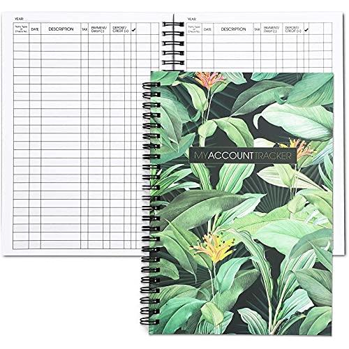 Foliage Contabilidad Libro de libros mayores (50 hojas, 2 unidades)