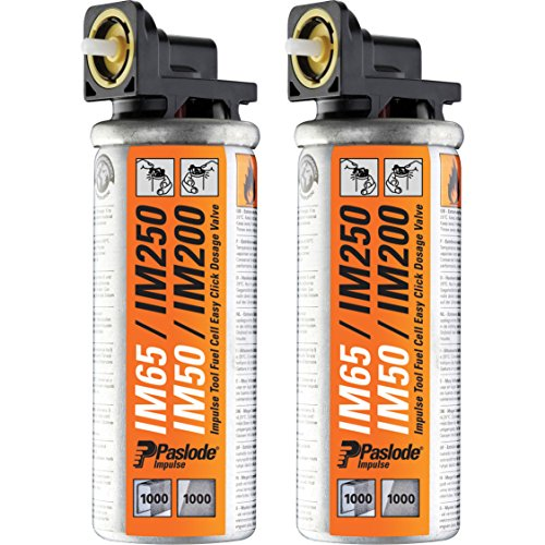 Paslode Impulse Mini Gas Fuel Cell Pack of 2 for IM65, IM65A, IM50, IM200 Nail Guns & IM200 Staple Guns