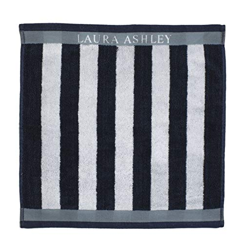 Laura Ashley - Paño de cocina - Frottier Midnight Stripe Vertical - 50 x 50 cm.