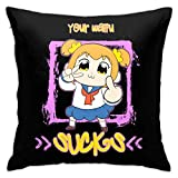 GSDGSDG Your Waifu Sucks Funda de Almohada, Double-Sided Printing, Hidden Zip Funda de Almohada, Beautiful Printed Pattern Funda de Almohada 18inch18inch