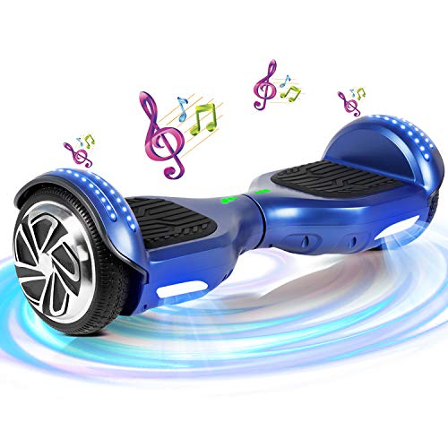 """SISGAD - Hoverboard elettrico con ruote da 6,5\"""", bilanciamento automatico, ideale come regalo per bambini, Bambino, HY-01A"""