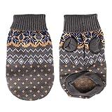 Idepet Suéter para perros y mascotas,ropa de invierno cálida para perros y gatos,cómodo...