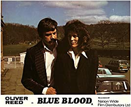 Blue Blood Original Lobby Card Oliver Reed Fiona Lewis