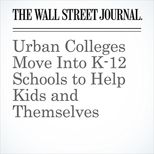 Urban Colleges Move Into K-12Schools to Help Kids and Themselves copertina