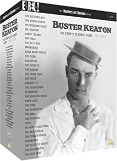 The Complete Buster Keaton Short Films [Masters of Cinema] [DVD] [1917] (B000I5XN7E) | Amazon price tracker / tracking, Amazon price history charts, Amazon price watches, Amazon price drop alerts