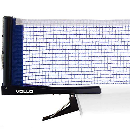 Vollo Sports Rede Tenis Mesa C/ Sup. Alicate, Azul