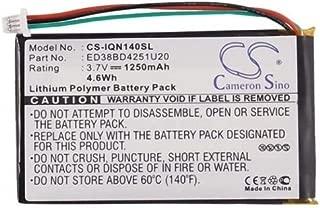 Battery fits Garmin Nuvi 1400, 1450, 1450T, 1490, 1490T, 1490T Pro, 1490TV