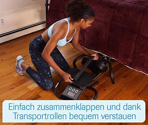 Mediashop Slim Cycle Heimtrainer, Liegefahrrad und Oberkörper-Trainer | zusammenklappbar | Radfahren und Ruderbewegung für effektives Kardio- & Krafttraining | Das Original aus dem TV - 9