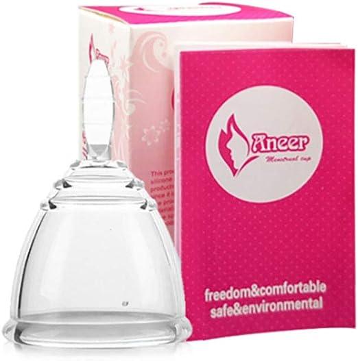 Zcthk Comfort Menstrual Cup La Mejor protección Alternativa ...