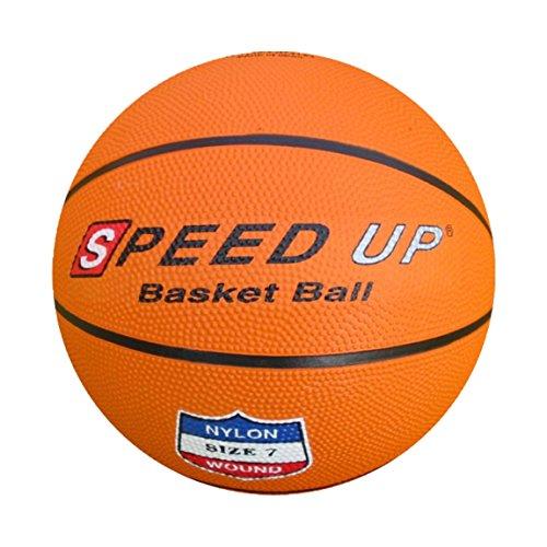 Speed-up, pallone da pallacanestro, livello taglia 7, pompa di gonfiaggio inclusa