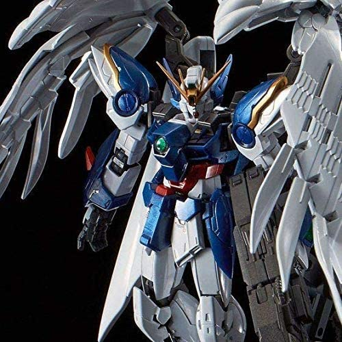 Bandai 1 144 RG XXXG - 00W 0 Wing Gundam Zero EW & DREIZWERG Titanium Finish Mobile Suit Gundam Gundam W Endless Waltz