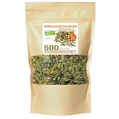 Semillas de Calabaza Orgánicas - 500g - Curcubita pepo