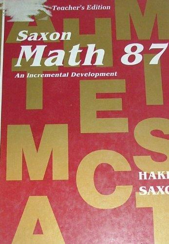 Math 87 (Saxon Math 8/7)