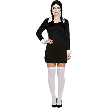 Fancy Dress Fun FANCYDRESS LIKE WEDNESDAY ADDAMS FAMILY COSTUME ...