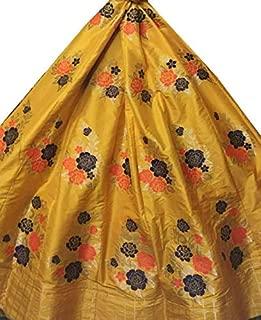 Indian Dresses Store Sawagat Creation Women Lehenga(Yellow_40)