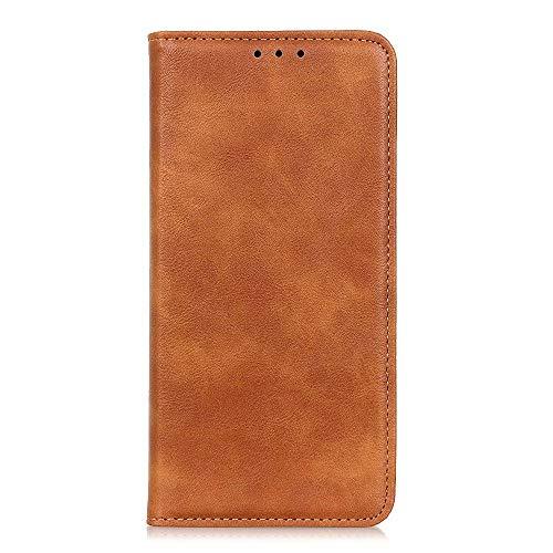 BAIDIYU Hülle für Motorola Moto G100 Handyhülle, Kartensteckplätze, Ständerfunktion, Luxus PU Leder Brieftasche Flip Folio Cover, Hülle für Motorola Moto G100.(Braun)