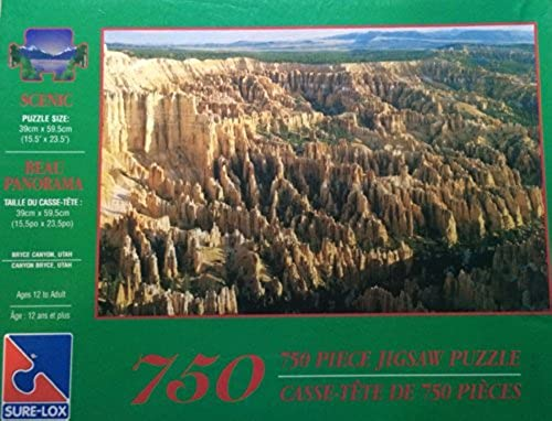 Sure-Lox 750 Piece Jigsaw Puzzle Bryce Canyon, UTAH by Sure-Lox