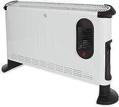 Perel CH0005 Conector, 3000 W, turbo, Blanco, Konvektor