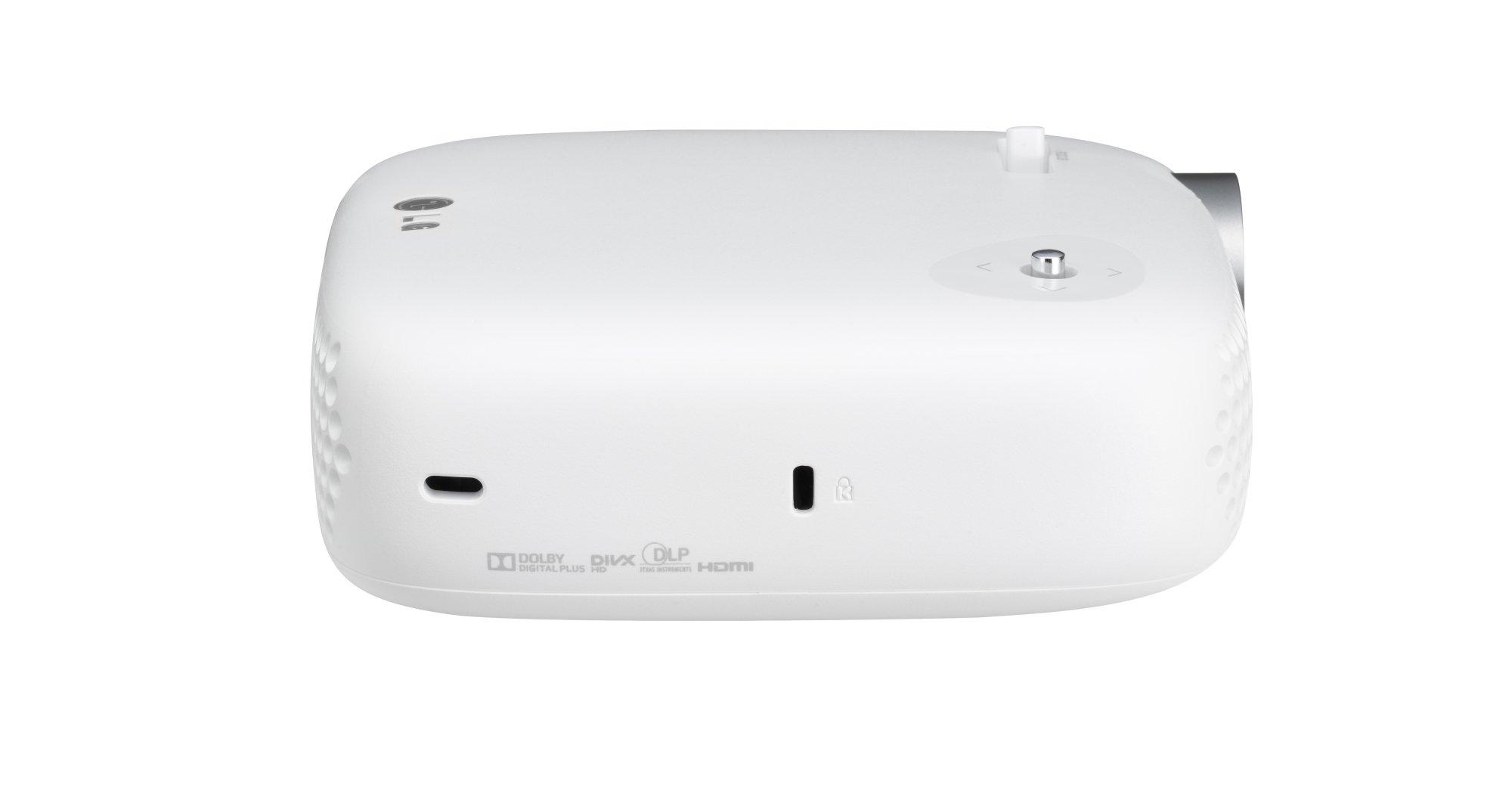 LG PW600G.AEU - Proyector, 600 lúmenes ANSI, color blanco: LG ...