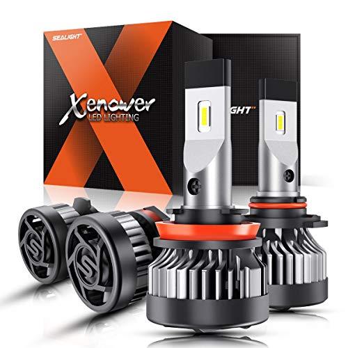 SEALIGHT Xenower X2 H11 9005 best LED lights bulbs Kit 2020
